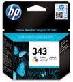 HP cartouche d'encre 343, 330 pages, OEM C8766EE#301, 3 couleurs, avec système de sécurité