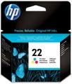 HP inktcartridge 22, 165 pagina's, OEM C9352AE, 3 kleuren