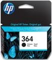 HP inktcartridge 364, 250 pagina's, OEM CB316EE#301, zwart, met beveiligingssysteem