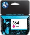 HP inktcartridge 364, 300 pagina's, OEM CB319EE#301, magenta, met beveiligingssysteem