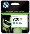 HP inktcartridge 920XL, 700 pagina's, OEM CD972AE, cyaan