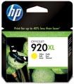 HP inktcartridge 920XL, 700 pagina's, OEM CD974AE, geel