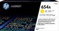 HP toner 654A, 15.000 pages, OEM CF332A, jaune