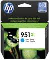 HP inktcartridge 951XL, 1.500 pagina's, OEM CN046AE#301, cyaan, met beveiligingssysteem