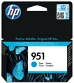 HP cartouche d'encre 951, 700 pages, OEM CN050AE, cyan