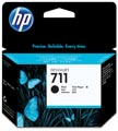 HP inktcartridge 711, 80 ml, OEM CZ133A, zwart