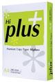 Hi-Plus Premium kopieerpapier ft A4, 75 g, pak van 500 vel