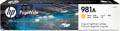 HP PageWide inktcartridge 981A, 6.000 pagina's, OEM J3M70A, geel