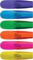Q-Connect surligneur premium, couleurs assorties, paquet de 6 pièces