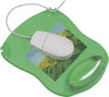 Q-Connect tapis souris gel avec repose-poignet, vert