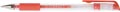 Q-Connect gelpen, rood