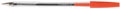 Q-Connect balpen met dop, medium punt, rood