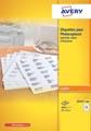 Avery 23521-200 kopieeretiketten ft 70 x 37 mm (b x h), 4800 etiketten, wit