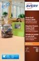 Avery L7110-20 étiquettes produits ft 62 x 42 mm (b x h), 360 étiquettes, kraft