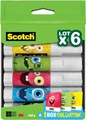 Scotch lijmstift permanent Monster, 8 g, doos van 6 stuks