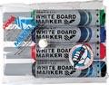 Whiteboardmarker Maxiflo set van 4 kleuren (blauw, rood, groen en zwart)