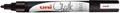 Uni-ball krijtmarker PWE-5M, zwart