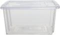 Whitefurze Stack & Store Mini boîte de rangement 5 litres sans couvercle, transparent
