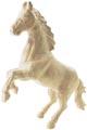 Décopatch cheval, papier-mâché, grand