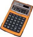 Citizen calculatrice robuste, Imperméable à l'eau et à la poussière, orange